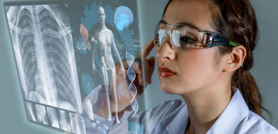 3D-bril, chirurg